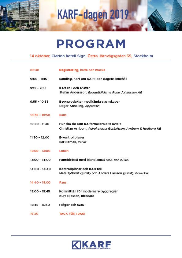 KARFdagen2019_Program